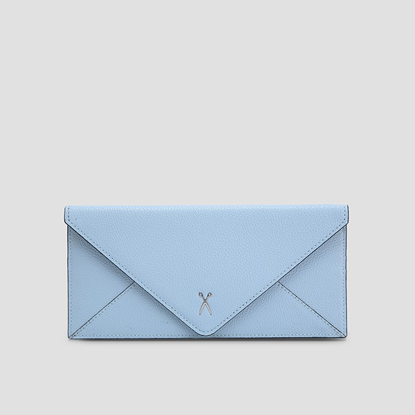 Easypass Amante Flat Wallet Long Candy Blue(M)