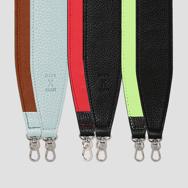 Multi Wide Leather Strap