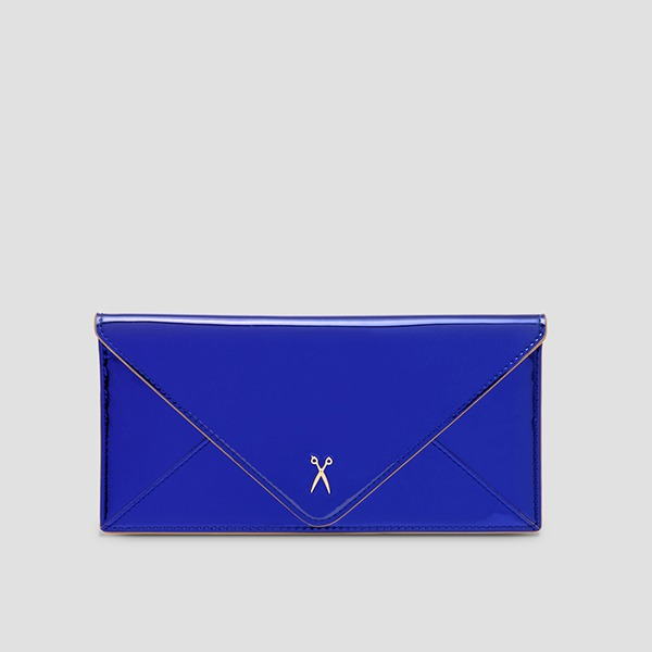 Easypass Amante Flat Wallet Long Mirror Blue