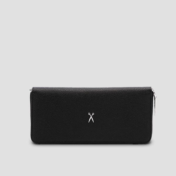 Easypass OZ 2-Way Wallet Long Rich Black