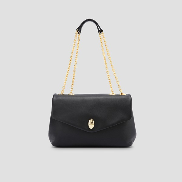 Koala Chain Shoulder Rich Black