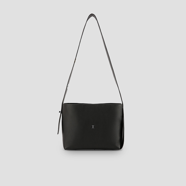 Joseph Dual Crossbody Rich Black(Silver)