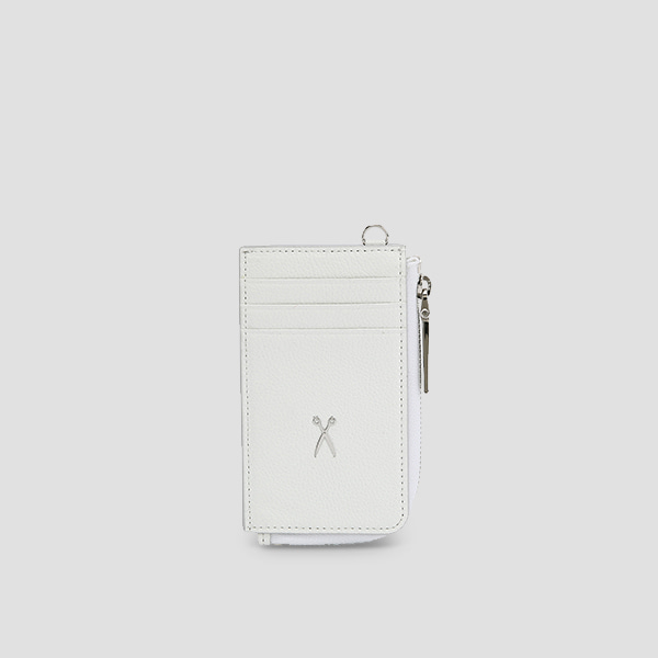 Easypass OZ Vertical Card Wallet Off White(M)