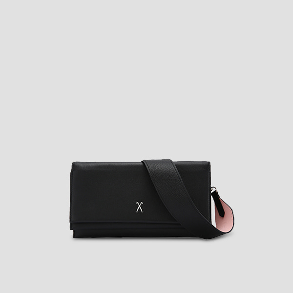 [드림캐쳐 유현 착용]OZ Organizer Clutch Rich Black
