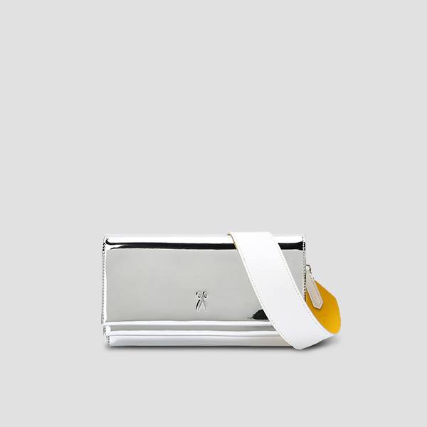 [배우 천이슬 착용]OZ Organizer Clutch Mirror Silver