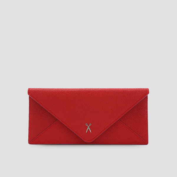 Easypass Amante Flat Wallet Long Barbados Red(Q)