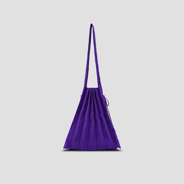 [김고은 착용]Lucky Pleats Knit M Ultra Violet