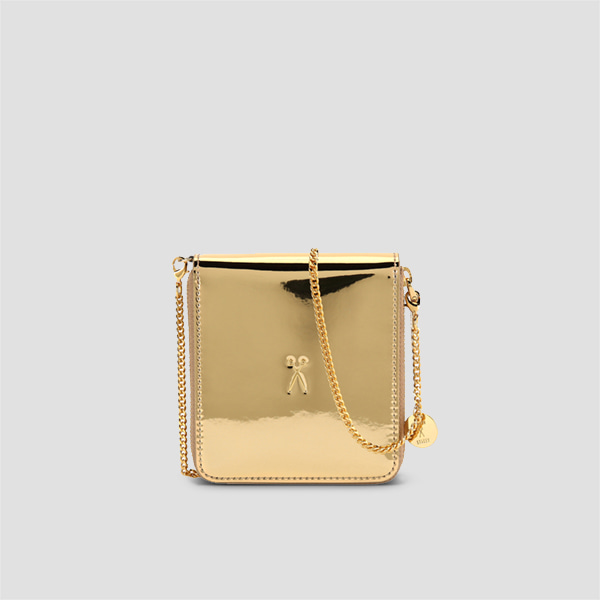 Easypass OZ Wallet Bolt With Chain Mirror Gold