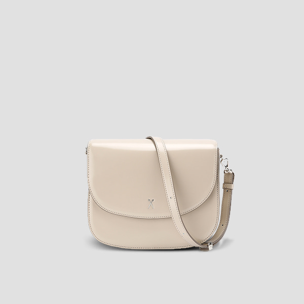 [기은세 착용] Luna Disco Cross Bag Ecru Beige