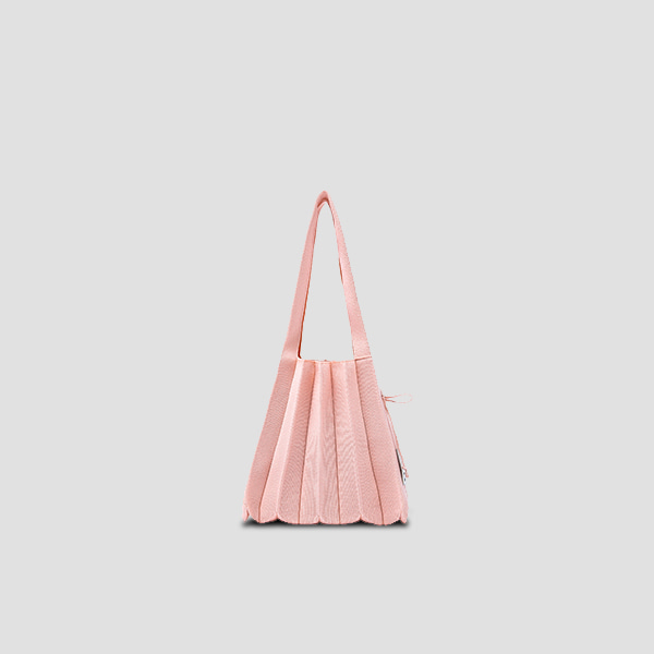 Lucky Pleats Knit S Millennial Pink