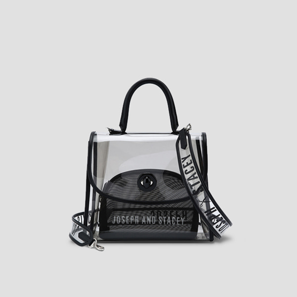 Joseph A Clear Bag Rich Black