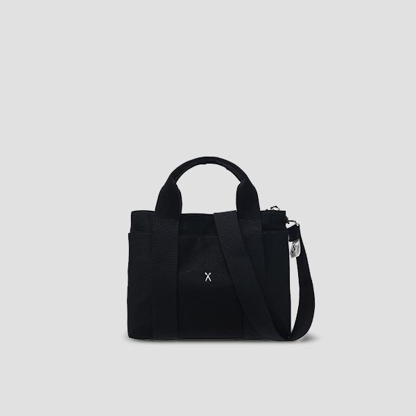 Stacey Daytrip Tote Canvas S Black