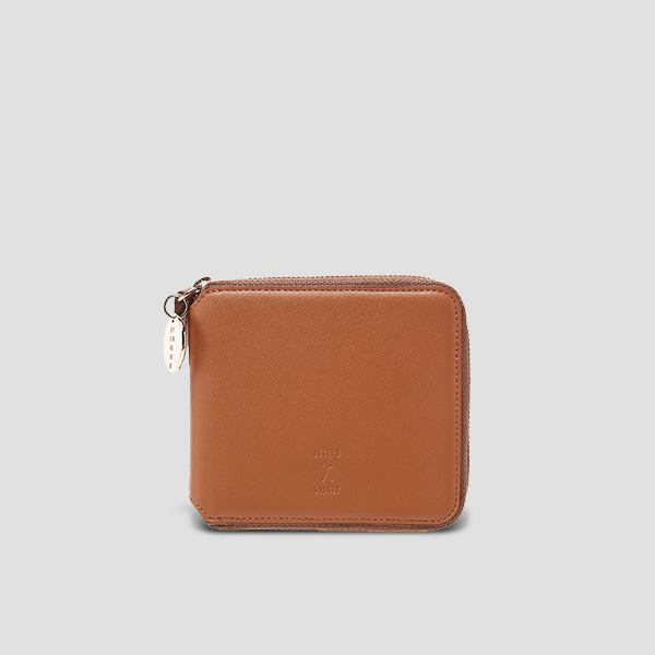 OZ Wallet Half Pecan Brown