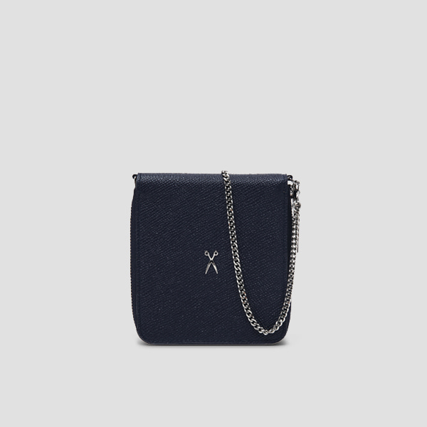 Easypass OZ Wallet Bolt With Chain Posy Navy