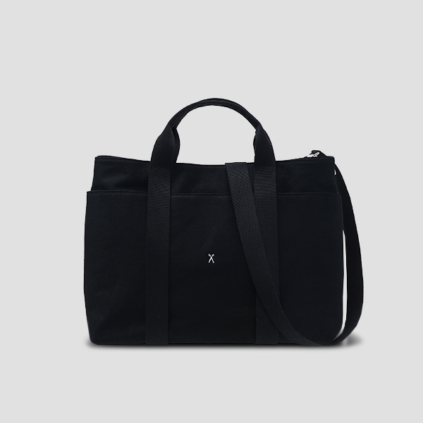 Stacey Daytrip Tote Canvas L Black