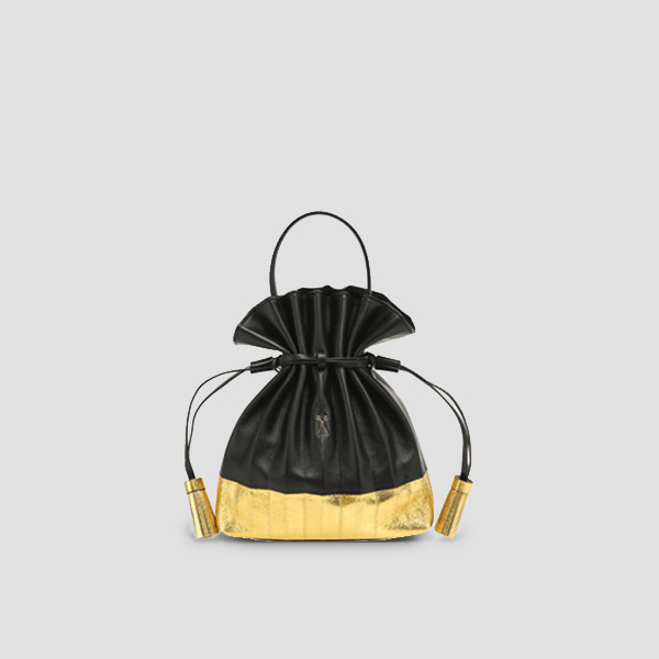 Lucky Pleats Crossbag Eve EditionRich Black
