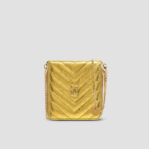 Easypass OZ Wallet Bolt Eve Edition24k Gold(+Chain Strap)