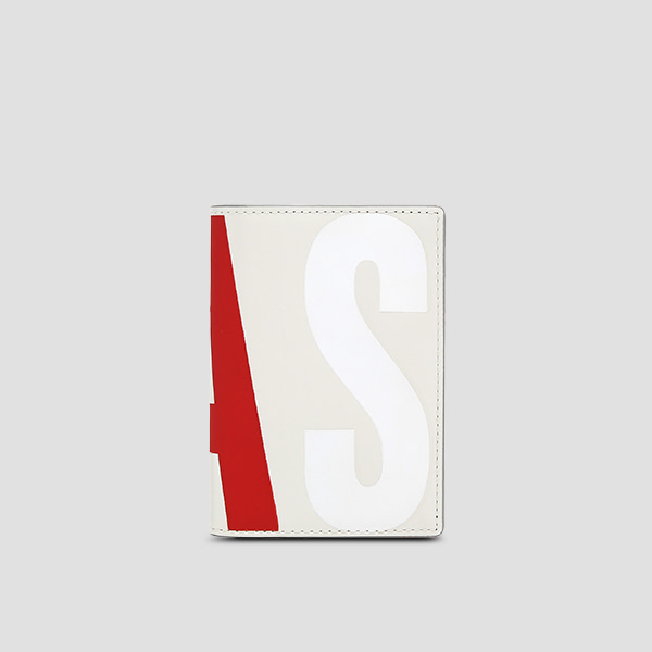 Easypass William Logo Card Wallet Lily Bone