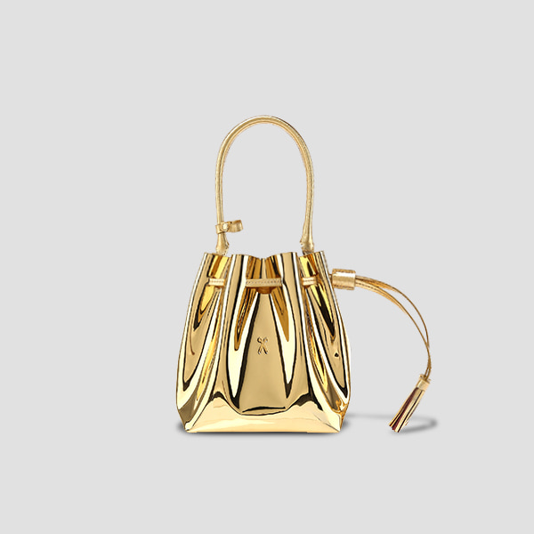 OZ Bucket Bag S Mirror Gold