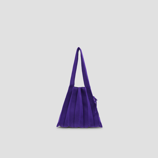 Lucky Pleats Knit S Ultra Violet