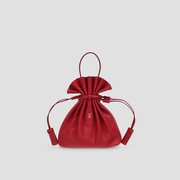 Lucky Pleats Crossbag Lucky Red