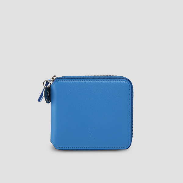 OZ Wallet Half Hockney Blue