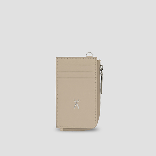 Easypass OZ Vertical Card Wallet Ecru Beige(E)