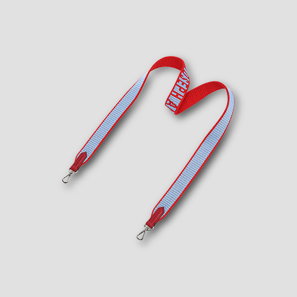 Colorful Logo Strap Lucky Red