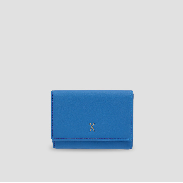Easypass 3 Folded Wallet Hockney Blue