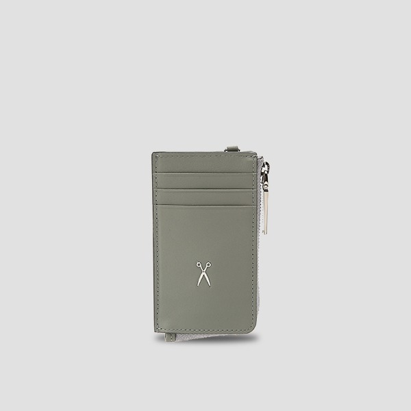 Easypass OZ Vertical Card Wallet Gravity Grey