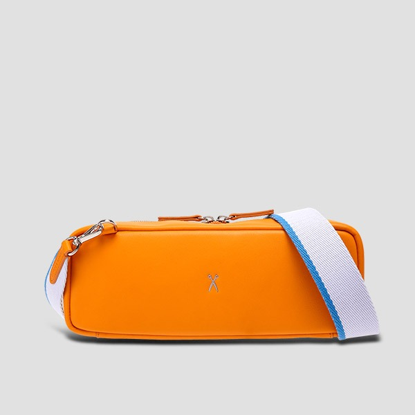 OZ V Square Bag Electric Orange