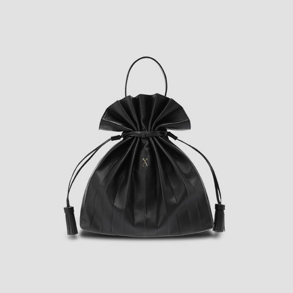 Lucky Pleats Crossbag M Rich Black
