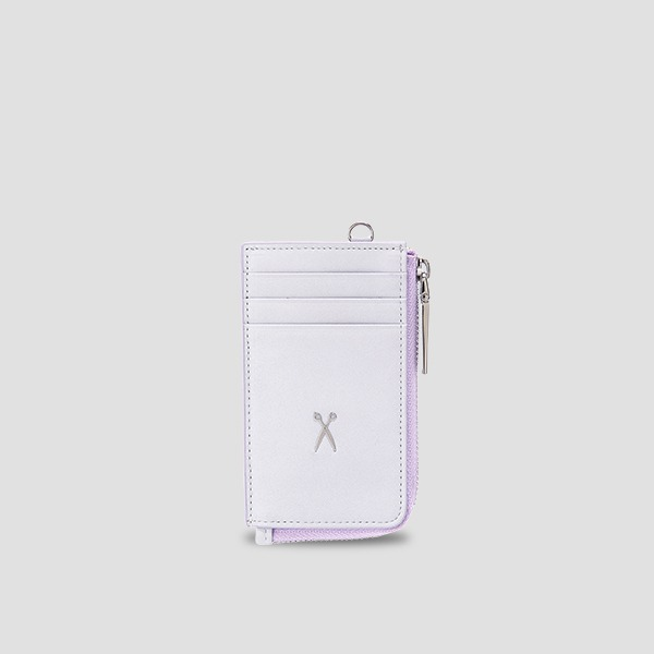Easypass OZ Vertical Card Wallet Light Purple