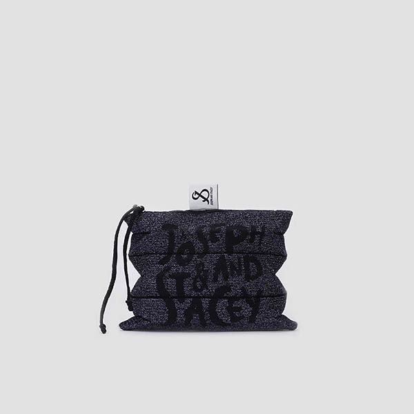 Lucky Pleats Pouch Graffiti S Starry Night