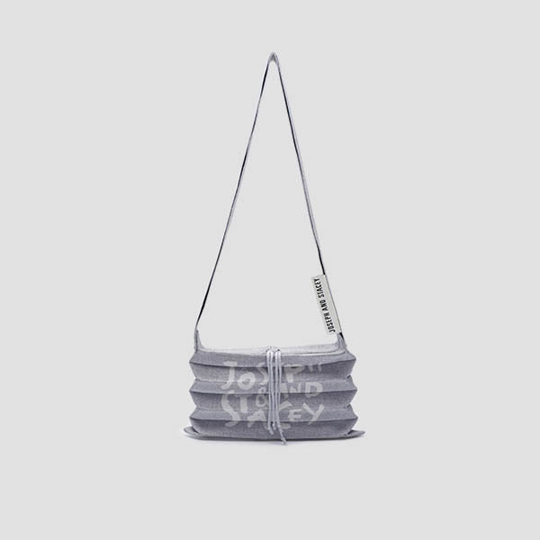 Lucky Pleats Knit Crossbag Graffiti Platinum