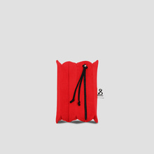 Lucky Pleats Pouch S Chroma Red