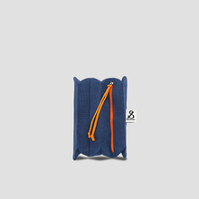 Lucky Pleats Pouch S Mid Blue